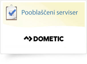 Pooblaščeni serviser: Dometic in Therford