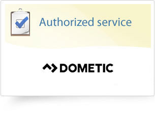 Authorized service: Dometic, Thetford